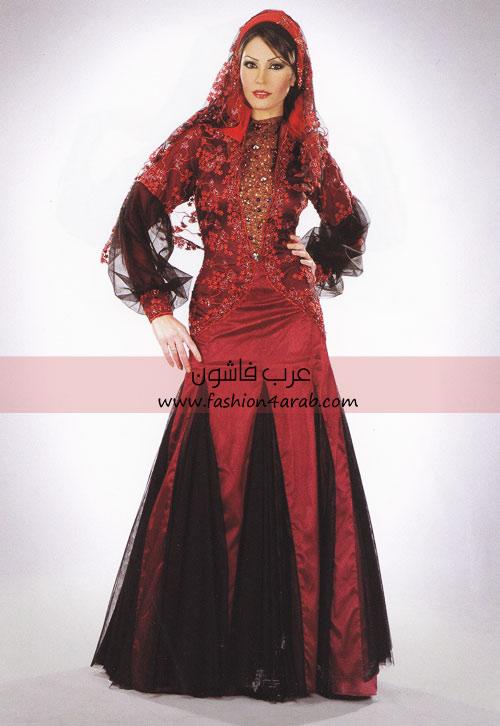 65188a495 فساتين سواريه للمحجبات تصميم عمرو البنا - عرب فاشون