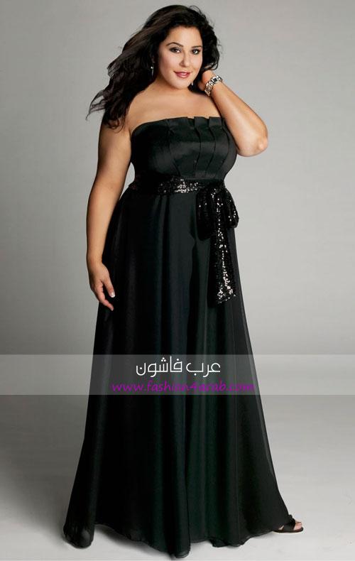 13db3609c فساتين سواريه 2011 مقاسات كبيرة - عرب فاشون