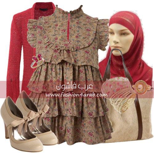 f514940af خدي افكار جديدة: ملابس محجبات شتوية 2011 - عرب فاشون