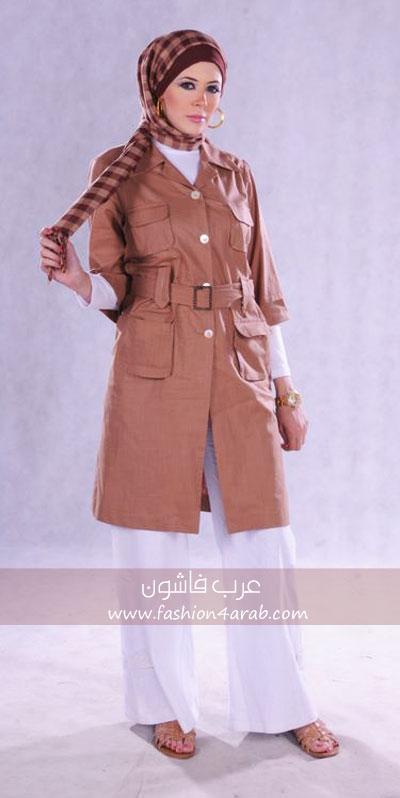 أحدث موديلات ملابس المحجبات ملابس محجبات 2014
