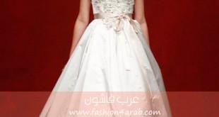 فساتين زفاف ريم اكرا خريف Reem Acra Fall 2011