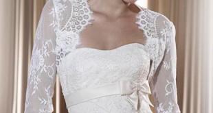 فساتين زفاف برونوفيا لشتاء 2011