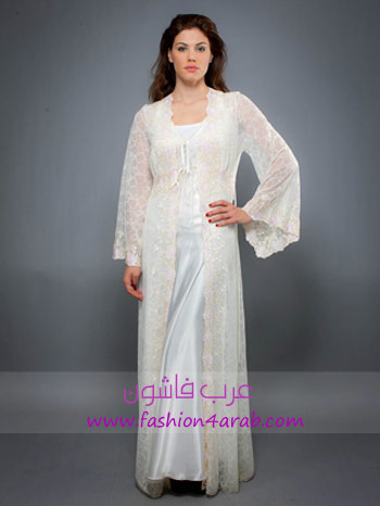 333085a8d9a0c قمصان نوم باللون الابيض و تجهيز العروس من الألف إلى الياء