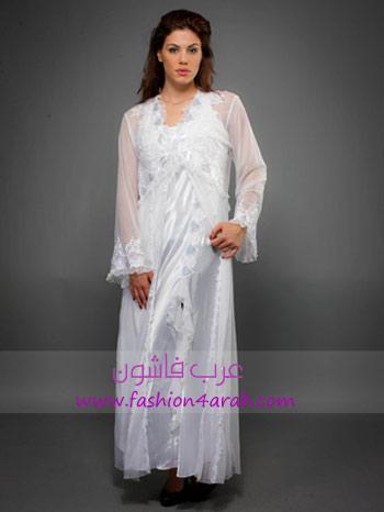 69715e4ea قمصان نوم باللون الابيض و تجهيز العروس من الألف إلى الياء