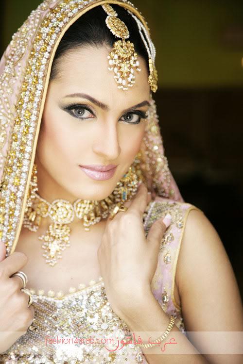 مكیاج هندی مكیاج العروس مكیاج 2011 مكیاج طلات مكیاج