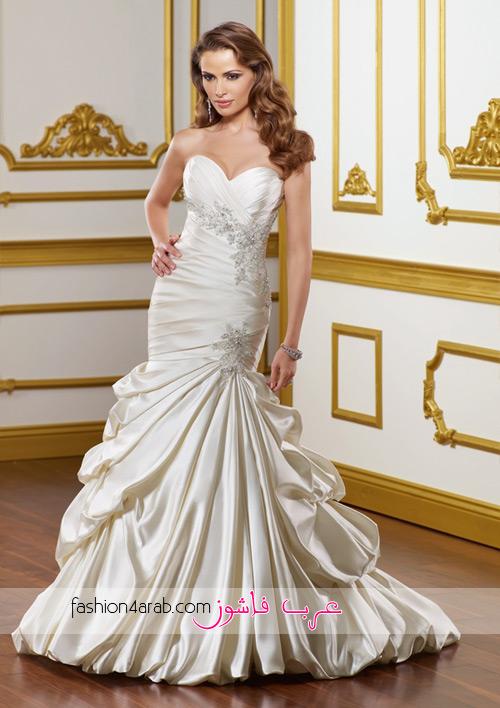 1c0e8a3c6 اليكي هذه المجموعة من فساتين الزفاف من تصميم مادلين غاردنر لعام 2012 شاهدي  المجموعة و اخبرينا رايك