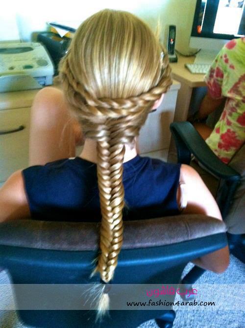 ضفاير لصاحبات الشعر الطويل