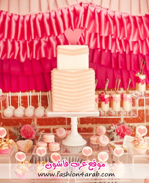 1-ribbons-ruffles-baby-shower-dessert-table