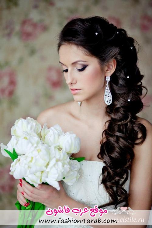 مكیاج فرح مكیاج العروس مكیاج 2013 مكیاج تسریحات شعر