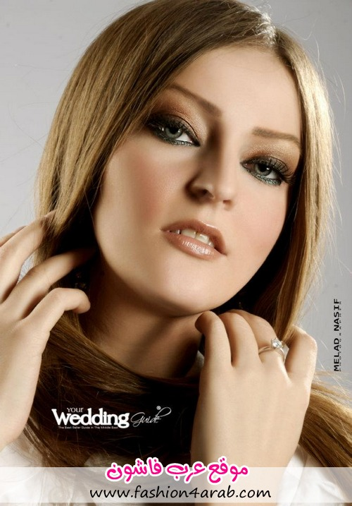 نجلاء بغدادی مكیاج فرح مكیاج العروس مكیاج 2013 مكیاج