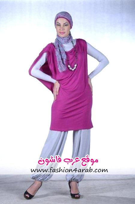 مدل مانتو نودوشش ملابس محجبات موضه 2013