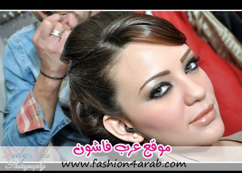 نجلاء بغدادي مكياج فرح مكياج العروس مكياج 2013 مكياج