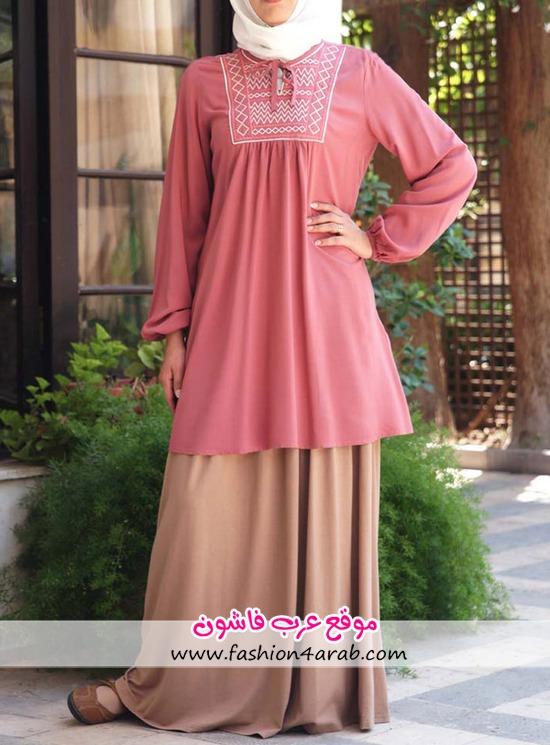 187f32c11160c ملابس محجبات صيف 2013 - عرب فاشون