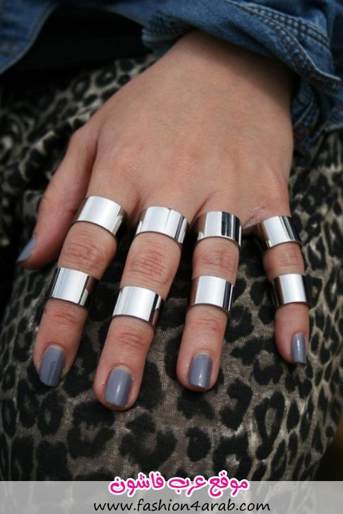 Модные кольца фото 1