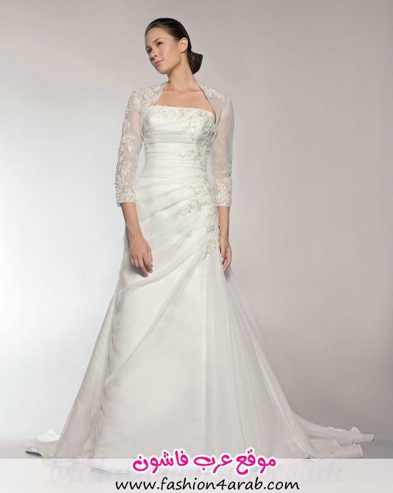 Handmade Embroidery Half Sleeves Wedding Dresses Jacket