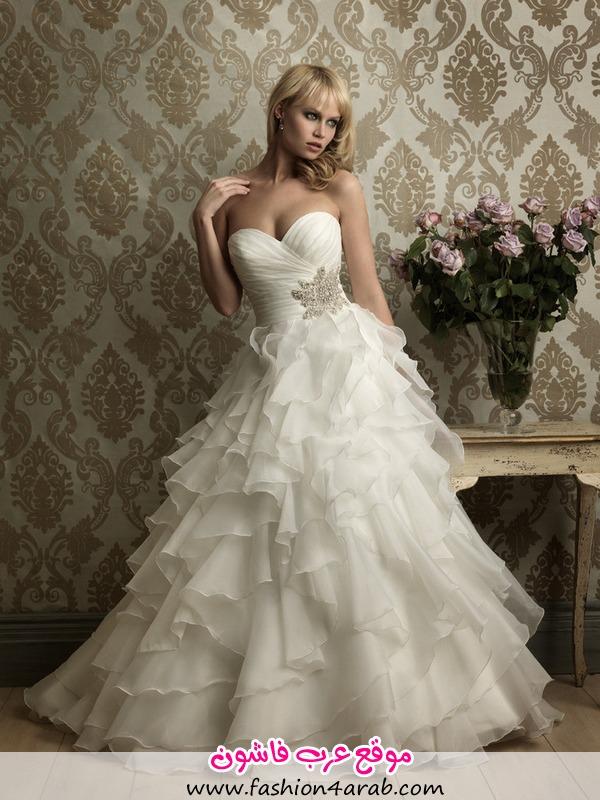 لكي اليوم مجموعة من صور فساتين زفاف