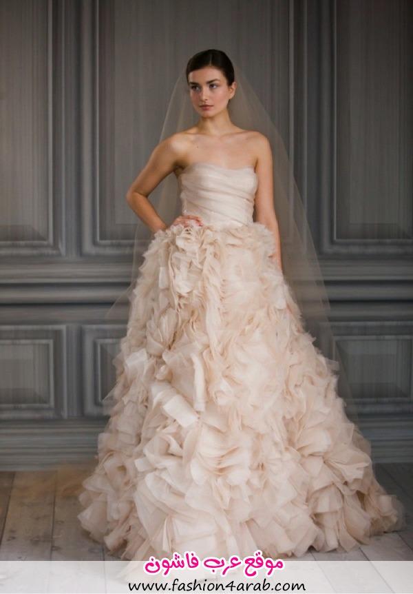 Monique-Lhuillier-Blush-Pink-Bridal-Dress