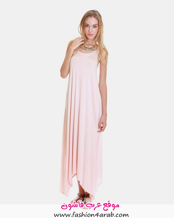 _0020_SOFT ASYMMETRICAL MAXI DRESS - PINK1-800x1000