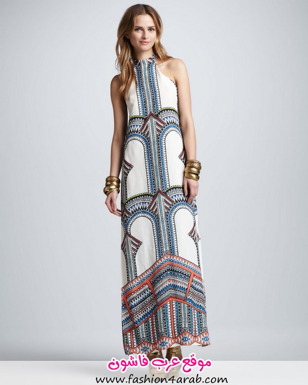 Alexis-Winona-Tribal-Print-Maxi-Dress