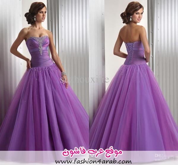 pretty-purple-ball-gown-graduation-dresses