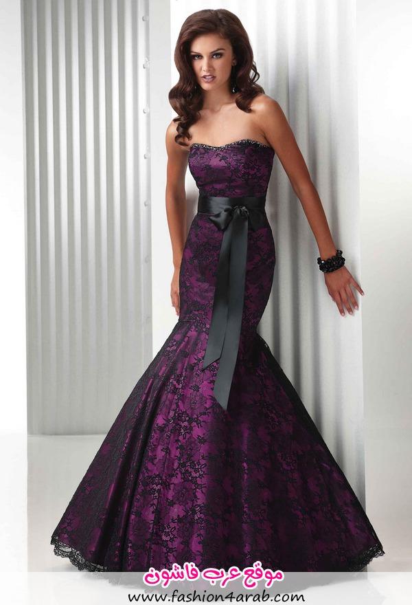 purple-and-black-wedding-dresses