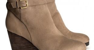 fe4cd9689 كما في كل موسم شتاء، تقدم لنا ماركة اتش اند ام تشكيلة متنوعة و راقيه من  احذية البوت للنساء بألوان الشتاء البيج و الاسود و …