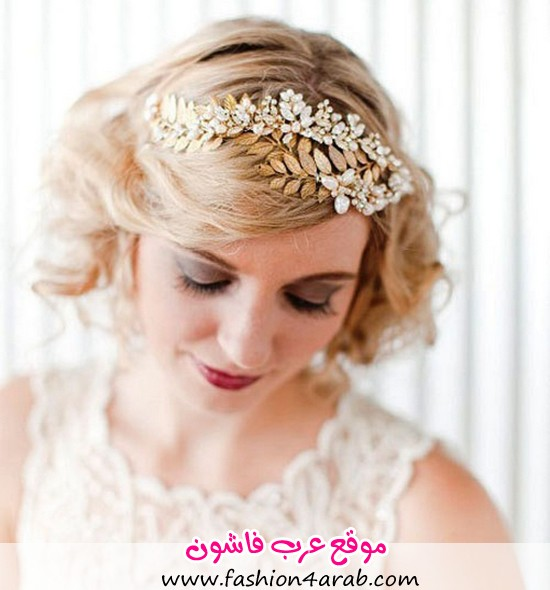 Chic-Short-Wedding-Hairstyle