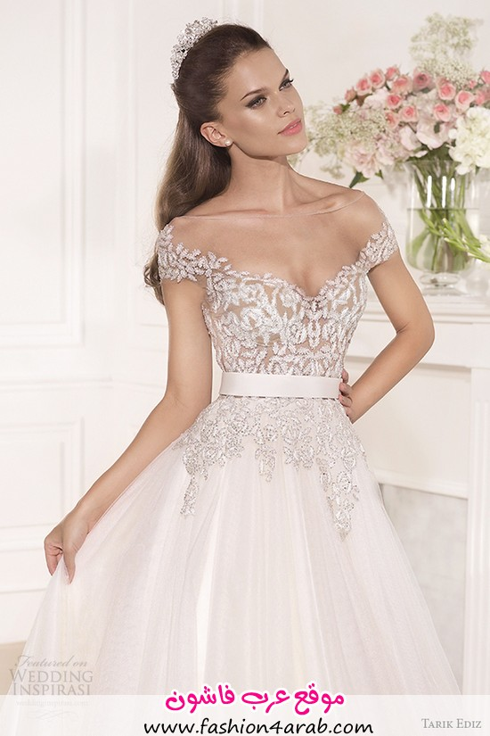 tarik-ediz-2014-bridal-collection-off-the-shoulder-sweetheart-a-line-wedding-dress-1-front-zoom-gul