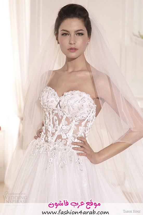tarik-ediz-2014-bridal-collection-strapless-sweetheart-a-line-wedding-dress-front-zoom-muge