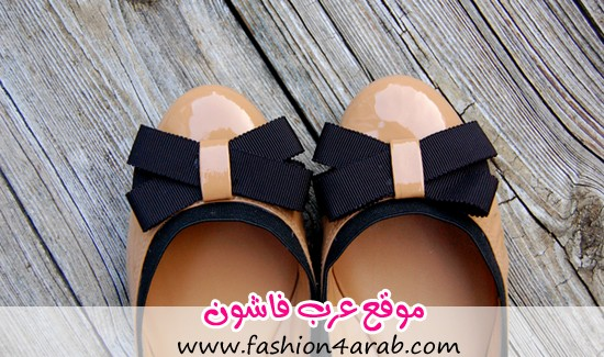 Kate Spade New York Frenchie Bow Camel Black Flats