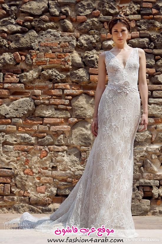 francesca-miranda-bridal-fall-2014-constantina-sleeveless-v-neck-wedding-dress