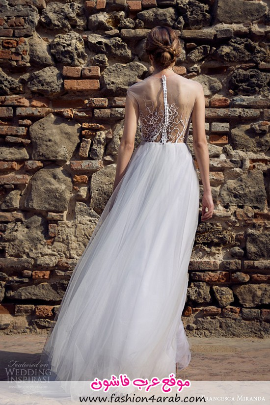 francesca-miranda-bridal-fall-2014-roxanne-wedding-dress-illusion-neckline-back-view
