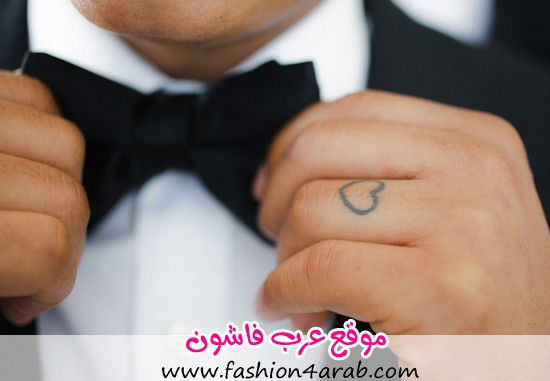 tattoo-heart-wedding-ring-groom