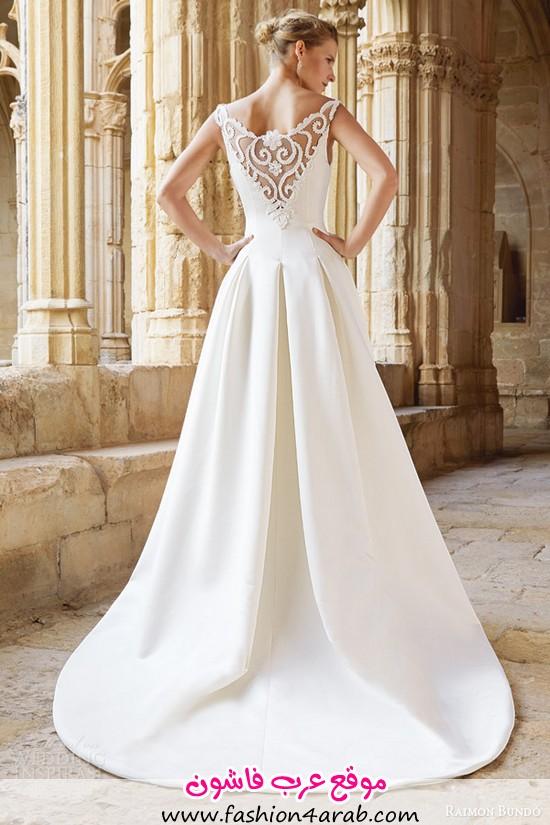 raimon-bundo-bridal-2015-natural-collection-montreal-sleeveless-wedding-dress-illusion-neckline-back-view-train