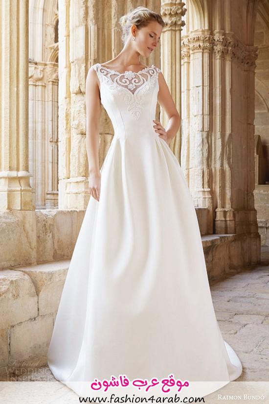raimon-bundo-bridal-2015-natural-collection-montreal-sleeveless-wedding-dress-illusion-neckline