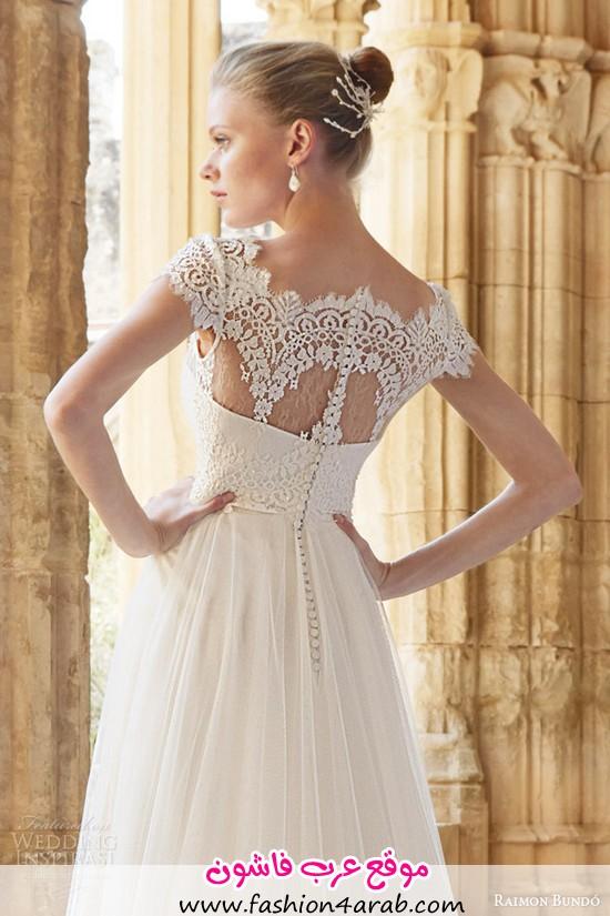 raimon-bundo-wedding-dresses-2015-mimi-cap-sleeve-gown-lace-bodice-back-view-close-up