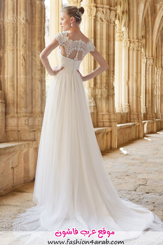 raimon-bundo-wedding-dresses-2015-mimi-cap-sleeve-gown-lace-bodice-back-view