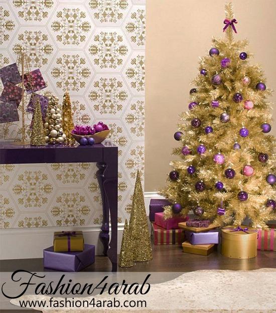 افكار لتزيين المنزل في الكريسماس