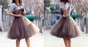 High-Fashion-Tulle-Skirt-Knee-Length-Simple-Short-Skirts-Multilayer-Skirts-Female-Hot-Sale-Free-Size