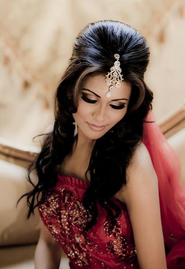 تسريحات شعر هندية ٦