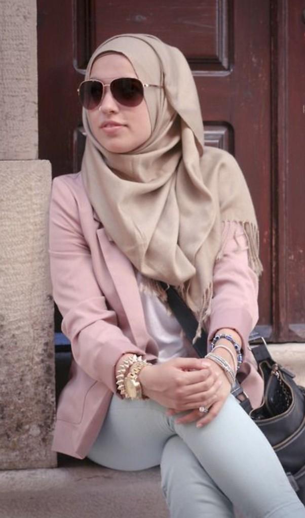 لف الحجاب بطريقة سهلة