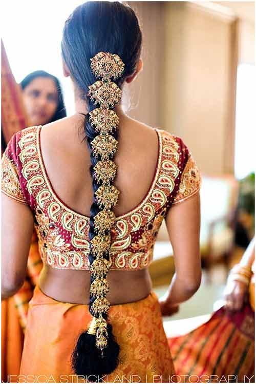 تسريحات شعر هندية ٣