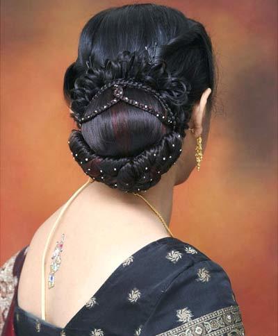 تسريحات شعر هندية ١١