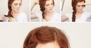 تسريحات شعر يومية
