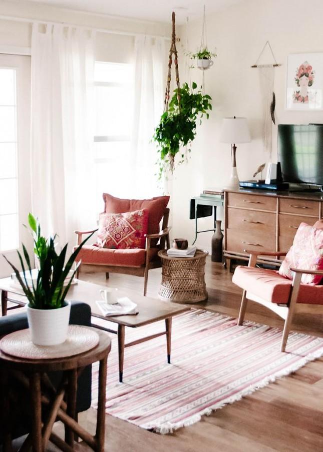 ديكور غرف معيشة صغيرة