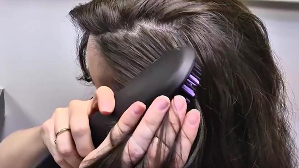فرشاة فرد الشعر