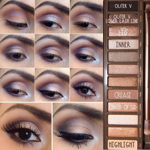ظلال عيون naked 2