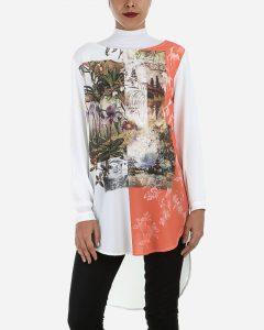 أزياء نسائية بالزهور